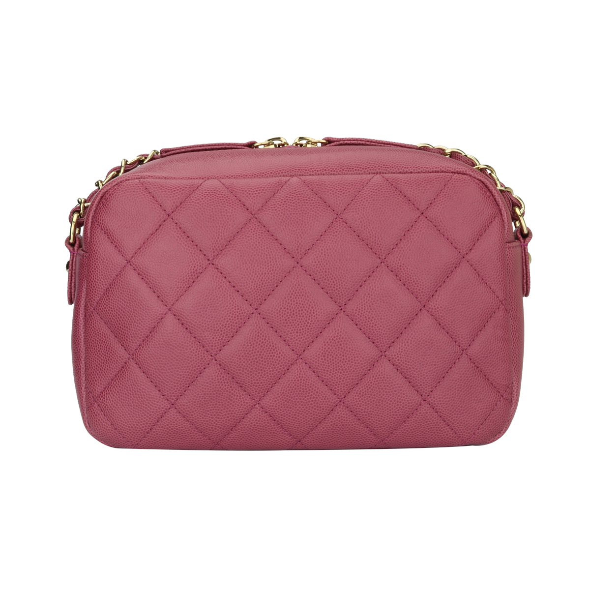 3d84f55fcb62 CHANEL Business Affinity Camera Case Pink Caviar Gold Hardware 2016 -  BoutiQi Bags