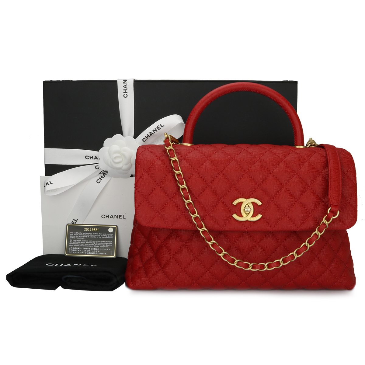 Red Chanel Bags